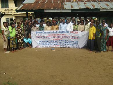 RIVCHO'S EXCUTIVE DIRECTOR IN HIV/AIDS STATE STRATEGIC PLAN DEVELOPMENT COMMITTEES IN DELTA & BAYELSA STATES