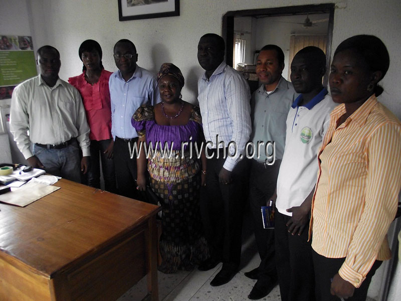 CUBS CHIEF OF PARTY VISITS RIVCHO